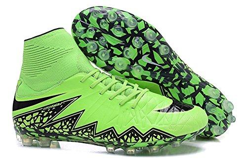 FRANK Fußball, Herren Stiefel Schuhe HYPERVENOM PHANTOM II AG Fußball, Herren, grün, 45