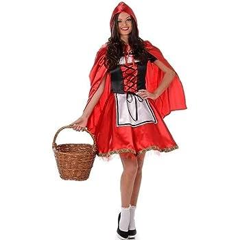 Generique Disfraz de Caperucita roja Mujer L: Amazon.es: Juguetes ...