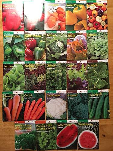 AGROBITS Laitue berg A: maintenant 40% !!! De! Nouveaux 2018/19 pee graines végétales Variétés 25 Incl. 3 organique