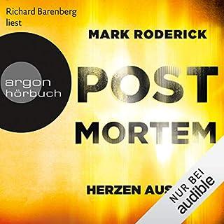 Herzen aus Wut     Post Mortem 5              Autor:                                                                                                                                 Mark Roderick                               Sprecher:                                                                                                                                 Richard Barenberg                      Spieldauer: 11 Std. und 3 Min.     101 Bewertungen     Gesamt 4,6