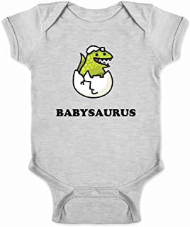 Kiwi Truly Teague Long Sleeve Infant T-Shirt Cute Blue Triceratops Dinosaur 12 To 18 Months