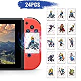 24 pcs NFC Mini Cards for the Legend of Zelda Breath of the Wild BOTW for Switch, Switch Lite, Wii U, with Crystal Case