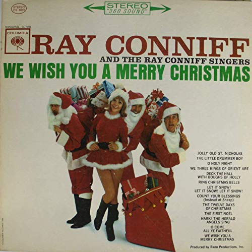Ray Conniff and the Singers: We Wish You a Merry Christmas - LP Vinyl Record Album