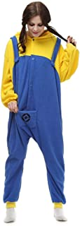Halloween Costumes Unisex Adults Despicable Me Minions The Movie Pajamas