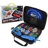 Bey Battling Top Burst Launcher Grip Toy Blade Set Game Storage Box 8 Top Burst Gyros 3 Launchers Great Birthday Present for Boys Children Kids
