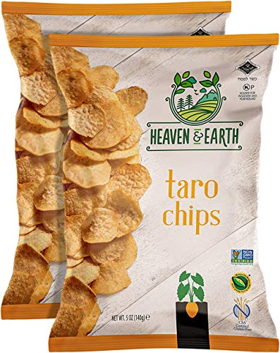 Heaven & Earth Taro Chips, 5oz (2 Pack)