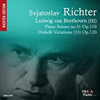 Beethoven: Diabelli Variations, Sonata No.31 by Svjatoslav Richter (2012-11-08)