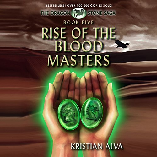 Rise of the Blood Masters audiobook cover art