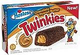 Hostess Twinkies - Schokoladen Twinkies gefüllt mit Erdnussbutter | Neue Edition