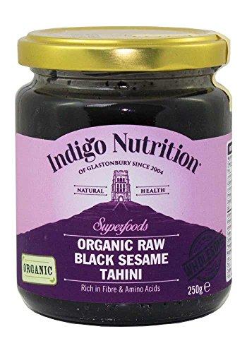 Indigo Herbs Sésamo Negro Tahini Orgánico 250g