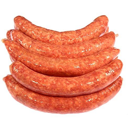 Bratwurst grob 25 Stück Im Vorteilspack = 3.000 g