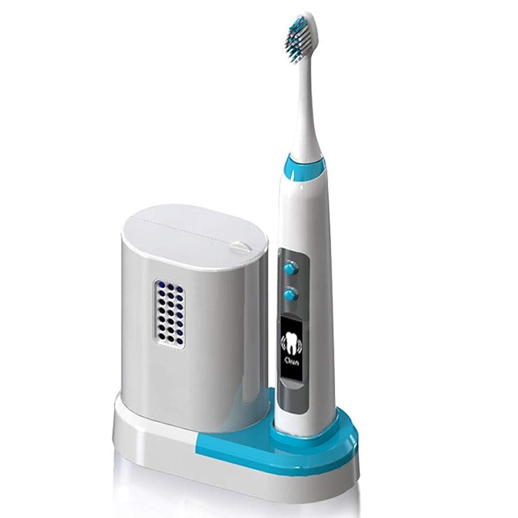 センサー有効な異形ワイヤレス誘導充電式電動歯ブラシ、音波粉砕技術、DuPontソフトブラシ素材、ボディ防水処理、UV消毒倉庫