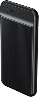 Remax RPP-159 Suchy Series Power Bank with 2 Charging Ports, 10000 mAh - Black