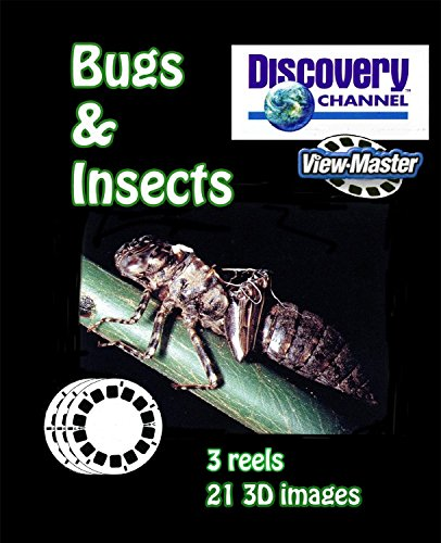 Discovery Channel - Bugs, into The Insect World - Classic ViewMaster - 3 Reels on Card - New