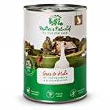 Müllers Naturhof | Nassfutter für Katzen | naturnahe Rezeptur | Gans & Huhn | 6 x 400 g | getreidefrei | 70% Fleischanteil | ohne Tierversuche, Zucker, Farb-, Aroma-, & Konservierungsstoffe