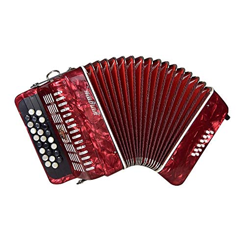 WYKDL Juguete Musical acordeón Efecto 12 25 Bajo-botón Bot