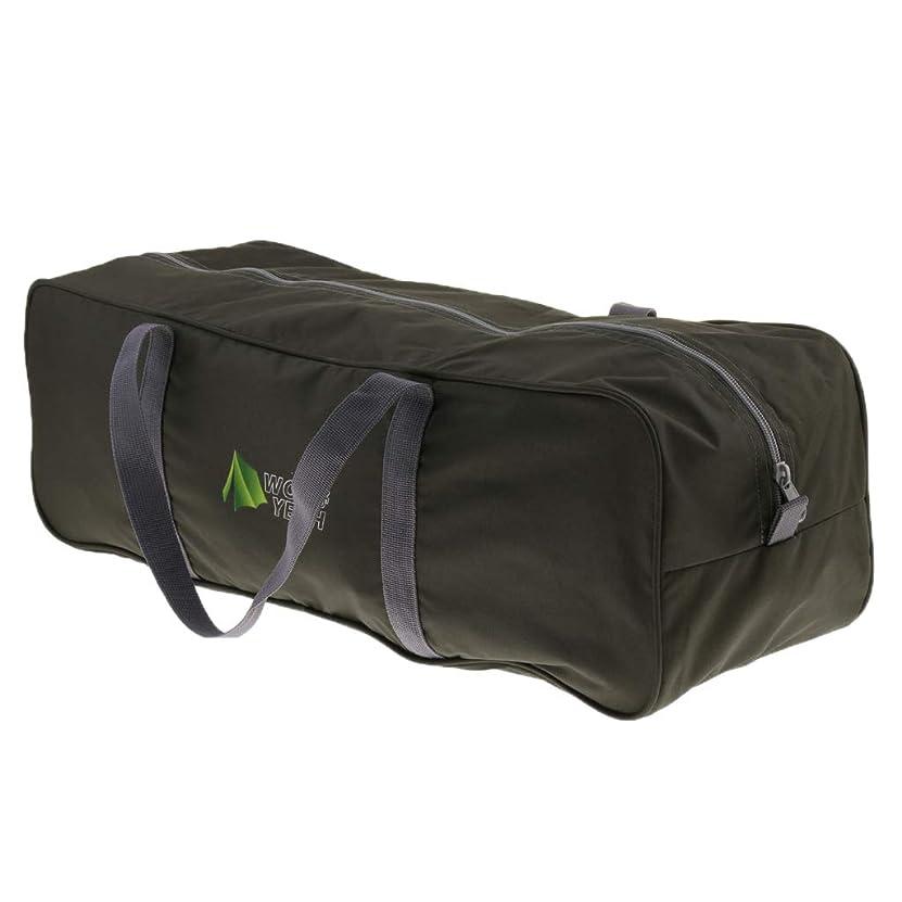 花瓶厳毎月Perfeclan オックスフォード布 ダッフルバッグ テントバッグ 収納袋 キャンプ用品 スタッフバッグ 全3サイズ