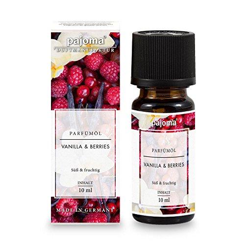 "pajoma Parfümöl ""Vanilla & Berries"", 10 ml, feinste Parfümöle in Geschenkverpackung"