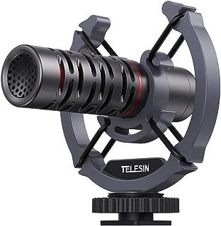 Telesin MIC-LAV02 Hi-Fi Grade Sound Quality Collar Clip Lavalier Microphone