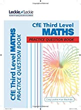 CfE Third Level Maths Practice Question Book