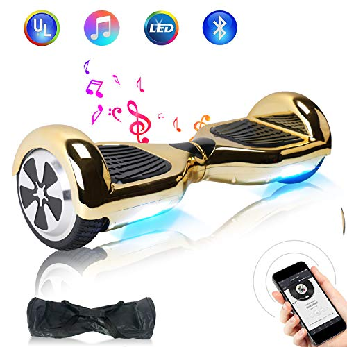"BEBK Hoverboard HX310,Ruote 6.5"" Self Balancing Board con LED Induttivi,Batteria (N1-07-BY03)"