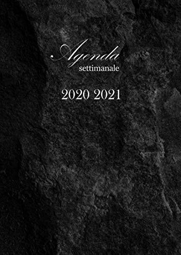Agenda settimanale 2020 2021: Agenda 2020-2021 : ottobre 2020 - dicembre 2021, Agenda planner organizer calendario , pianificatore giornaliero e Settimanale . Dimensioni (A4)