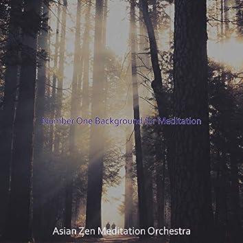 Number One Background for Meditation