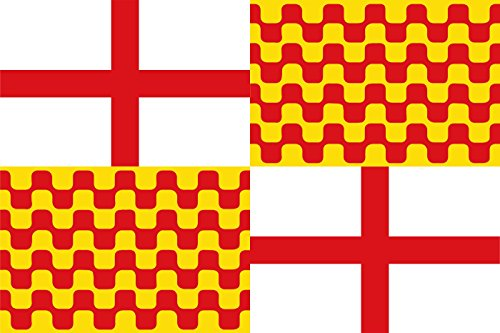 Durabol Bandera de Tabarnia 150 x 90 cm Satén Flag