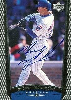 Autograph Warehouse 80621 Mickey Morandini Baseball Card Chicago Cubs 1999 Upper Deck No .334
