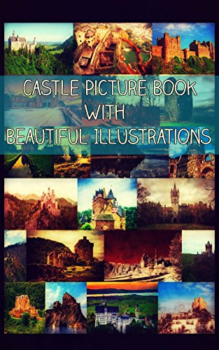Castle Picture Book With Beautiful Illustrations (English Edition)
