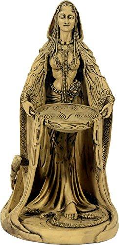 Figur Danu keltische Göttin Skulptur Irland Celtic Hecate