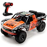 1:10 scale super-large model size. It's not like the other ordinary and small RC car as the body length can reach to 19.5 inches. The body design is manificent and beautiful, which is very popular with children. 2.4Ghz radio control, equipped with po...