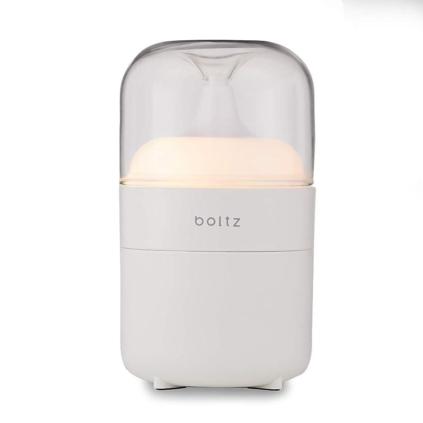 累積占めるくLOWYA(ロウヤ) boltz アロマディフューザー ネプライザー式 アロマオイル対応 間接照明 おしゃれ USB対応