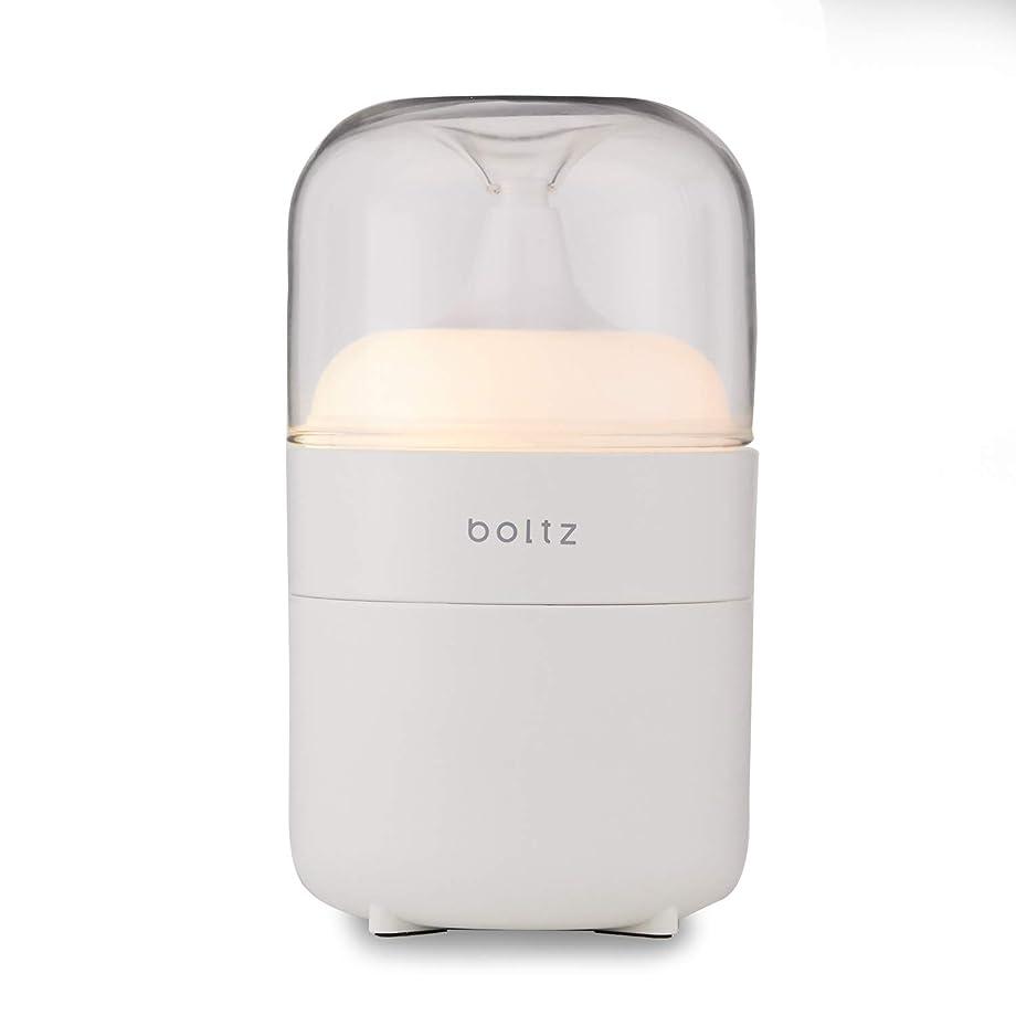 慈善踏みつけ鍔LOWYA(ロウヤ) boltz アロマディフューザー ネプライザー式 アロマオイル対応 間接照明 おしゃれ USB対応