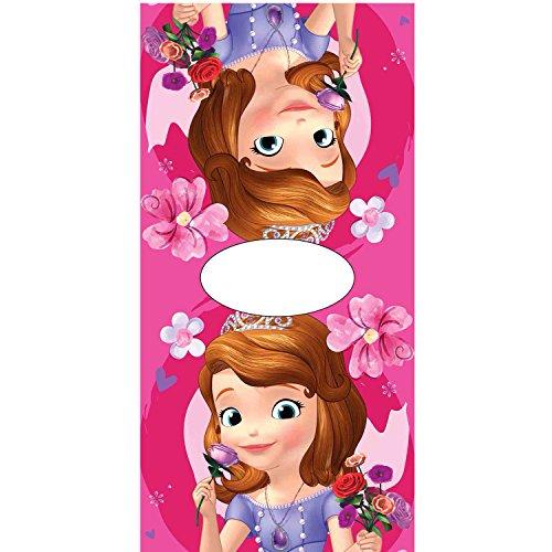 Poncho toalla Princesa Sofia Flowers