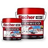 fischer – Impermeabilizante térmico (cubo de 4 l) con base polímero líquido y resina acrílica...