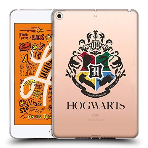 Head Case Designs Oficial Harry Potter Hogwarts Crest Half-Blood Prince I Carcasa de Gel de Silicona Compatible con Apple iPad Mini (2019)