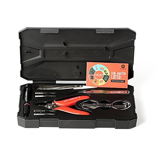 Coil Master Werkzeugkoffer/Multifunktion Schraubenzieher/Pinzetten/Rostfreie Zange – für Elektronik Reparaturen – DIY Mini Kit V2