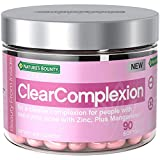 Nature's Bounty Clear Complexion Multivitamins, with Zinc for Immune Support & A Clearer Complexion for People with Non-Cystic Acne*, 90 Softgels