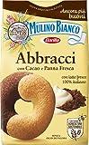 Mulino Bianco Biscotti Abbracci, Cacao e Panna Fresca, 350g