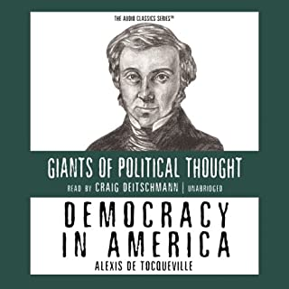 Democracy in America audiobook cover art