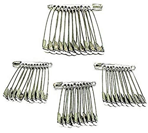 advancedestore Safety Pins for Saree, Dupatta Attaching Pins for Women and Girls pack of 42 safety pin.