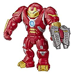 Iconic Marvel figure: Imagine smashing in to battle with this mega mighties Hulkbuster toy, inspired by the Marvel entertainment Poseable action figure: This 30-cm mega mighties toy features three points of articulation - arms, elbows and waist - so ...