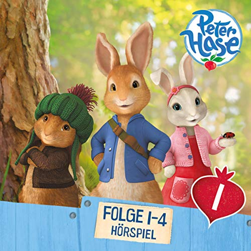 Peter Hase 1 - 4 audiobook cover art