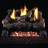Peterson Real Fyre 30-inch Evening Fyre Log Set With Vent-free Natural Gas Ansi Certified G18 Burner - Basic On/Off Remote