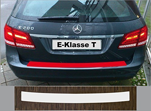 passgenau für Mercedes E-Klasse T-Modell S212, 2013-2016, Lackschutzfolie Ladekantenschutz transparent