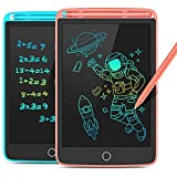 LCD Writing Tablet, 2 Pack Colorful Doodle...