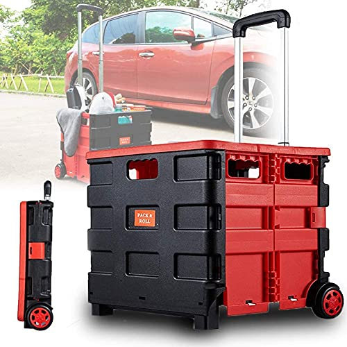 WSVULLD Car Trunk Organizer, Save Space Boot Organizer, Collapsible, Durable, Suitable for Moving Household, Office, Groceries and Warehouse Items,small (Size : Large)