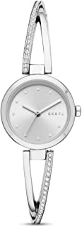 DKNY Dress Wrist Watch For Women, NY2792, Silver
