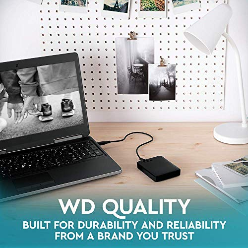 WD 5TB Elements Portable External Hard Drive, USB 3.0 - WDBU6Y0050BBK-WESN